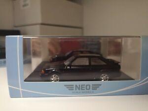 NEO SCALE MODELS 1/43 FORD ESCORT MKIV RS TURBO 1986 BLACK ART.NEO44952