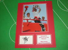 Mikel Arteta Signed Arsenal FC 2014 FA Cup Winners Celebration Mount