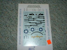 SuperScale Decals 1/48 48-929 P-51D Mustangs 353FS 354FG 2FS 2ACG   QQ