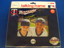 Minnesota Twins MLB Major League Baseball Party Gift Photo Talking Picture Frame