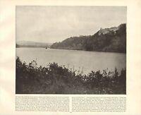 1894 Vittoriano Stampa ~ Dromanna Castle Affane Lismore ~ Forti ( Testo