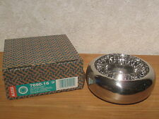 ALESSI *NEW* Cendrier inox brillant D.16cm H.7cm 7690/16 Castiglioni