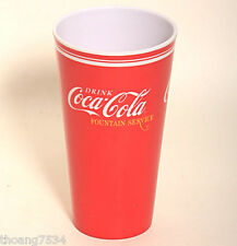 NEW Gibson Red Classic Coke COCA COLA Drink Plastic Melacore 20 OZ CUP TUMBLER