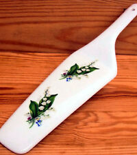 Lily of the Valley Cake Server Fine Bone China Cake Slice Lilies Pie Cake Server
