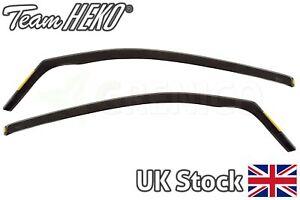 Wind deflectors 2pc HEKO compatible with SKODA Citigo 3door hatchback 2012-up