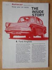 FORD ANGLIA 1965 The Inside Story UK Market technical brochure - Autocar - 105E