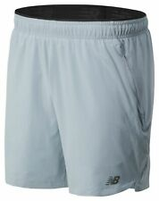 New Balance Men's 7 Inch 2 In 1 Short Grey