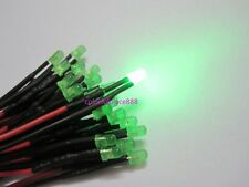 3mm 5V 6V 7V Pre-Wired Red Yellow Blue Green Warm White Orange Diffused LED 20CM