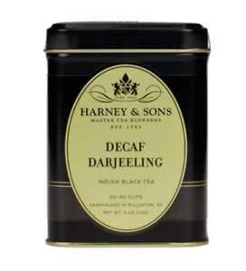 Harney & Sons Decaf Darjeeling 4 ounce Tin