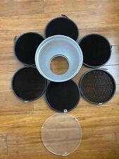 "Godox 7"" Standard Bowens Mount Reflector + 10, 20, 30, 40, 50, 60 degree Grids"