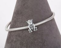 Naughty Monkey Charm, Delicate SILVER Jewellery, Animal Charm for Bracelet