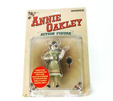 ANNIE OAKLEY Action Figure Cowgirl Figurine Doll w/ Rifle Western New in Box