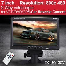 "7"" TFT LCD Digital Color Screen Monitor for Car Rear View CCTV Camera /DVD/VCD"