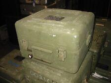 Amalco Zero Deep Drawn Aluminum Military Case 16x15x10 Weathertight Dry Box Drab