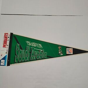NWT Saudi Arabia World Cup USA 1994 Wincraft Full Size Pennant Flag New With Tag
