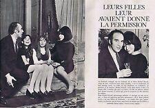 COUPURE DE PRESSE CLIPPING 1966 JULIETTE GRECO & MICHEL PICCOLI (4 pages)