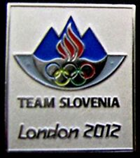 LONDON 2012 Olympic SLOVENIA NOC Internal team - delegation  pin