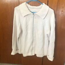 Blue Willi's Collared Full Zip Sweater Size M