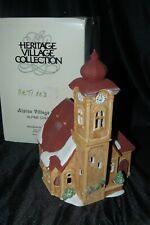 Department 56 Alpine Christmas Village Lighted House Alpine Church 6541-2 Mib