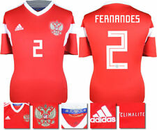 FERNANDES 2 - RUSSIA HOME 2018 WORLD CUP ADIDAS SHIRT SS = ADULTS