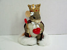 Fitz and Floyd Charming Tails 84/114 Queen of My Heart Nib mouse