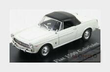 Fiat 1500 Cabriolet Closed 1963 White EDICOLA 1:43 ED4656104