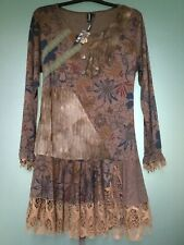 GORGEOUS TUNIC DRESS BY IZABEL LONDON, NEW WITH TAGS, SIZE 14