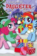 MY LITTLE PONY TO A VERY SPECIAL DAUGHTER CHRISTMAS CARD NEW GIFT