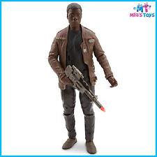 """Disney Lucasfilms Star Wars The Force Awakens Finn 13 1/2"""" Talking Light Up bnib"""
