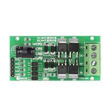 New 5-27V 5A DC Motor Driver Module H Bridge Reversible Speed Control Board J9A9
