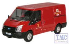 76FT002 Oxford Diecast OO Gauge Royal Mail New Ford Transit Van L.Roof