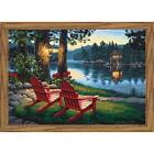 Paintworks® Adirondack Evening Kit & Frame Paint-by-Number Kit