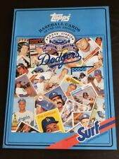 1987 Los Angeles Dodgers Surf  Baseball Card Collectible Book ALL TOPPS CARDS