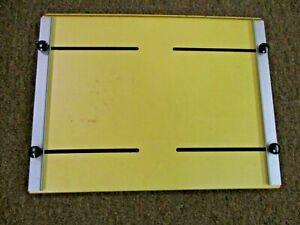 Saunders Omega 11X14 adjustable borderless easel used clean