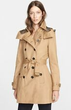 New Burberry Brit 2017 Authentic 'Reymoore' Trench Coat Nwt Light Camel