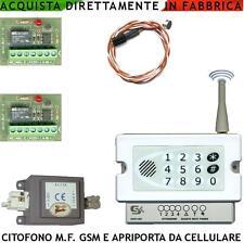 Citofono GSM Apri Cancello Porta da Cellulare Parla Ascolta Monofamigliare
