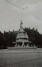 ANCIENNE PHOTO ARGENTIQUE - LYON PLACE BELLECOUR en 1937 - Snapshot vintage