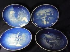 Royal Copenhagen christmas plate plates lot of 4 after jule 1973 1974 1975  1978
