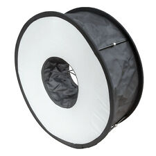 Ring Softbox for Speedlite Small Compact Portable Lighting Light Modifier