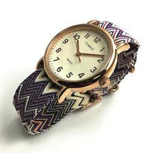 Women's Timex Weekender Purple Nylon Strap Watch TW2R59000