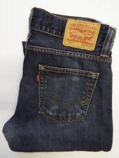 Levis 506 Jeans Homme Standard Fit Straight W32 L32 bleu foncé Strauss levj 139 #