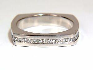 .25ct natural round cut diamonds mens band platinum mod square form+