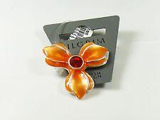 Pilgrim Brosche Anstecknadel, Nadel, Anstecker, Blüte, Modeschmuck, Orange, Rot