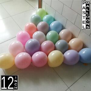100 Macaron Pastel Balloon Arch Garland Wedding Baby Shower Birthday Party Decor