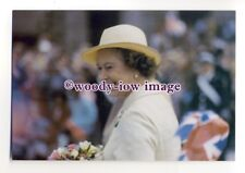 pq0095 - Queen Elizabeth at Nottingham 1984 - postcard