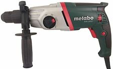 METABO SDS PLUS COMBINATION HAMMER DRILL - KHE 2650 - 110V CORDED