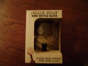 GUZZLE BUDDY: TURNS YOUR BOTTLE OF WINE INTO YOUR GLASS-As seen on Shark Tank