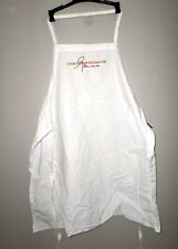 COOKING WITH THE MASTER celebrity apron Unknown Chef embroidered signature