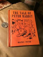 The Tale Of Peter Rabbit 1935 31 Colored Litho Illustrations Wee Book