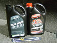 5L EVANS WATERLESS COOLANT  POWER COOL 180 & 5L PREP FLUID  Track Day Pack